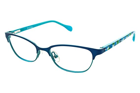 67fa4ec21f0a Image Unavailable. Image not available for. Color  LILLY PULITZER  Eyeglasses SAMMI Navy 45MM