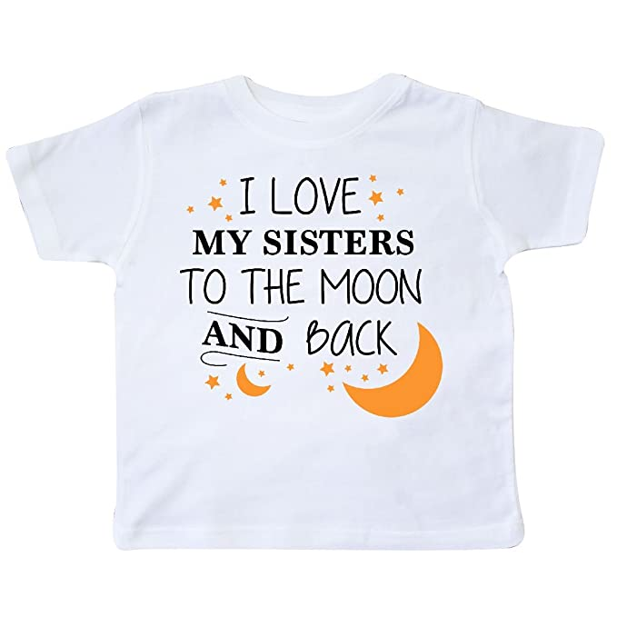 Amazoncom Inktastic I Love My Sisters To The Moon And Back
