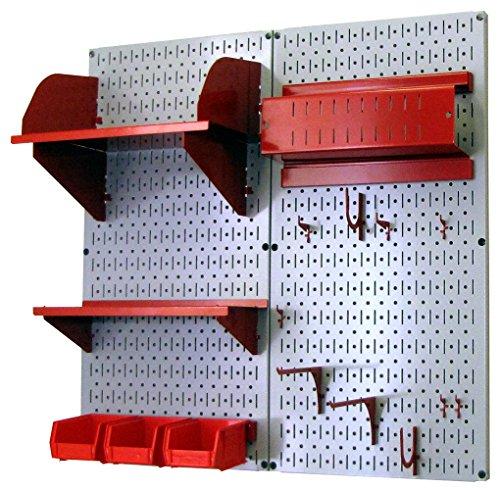 Wall Control 30-CC-200 GR Hobby Craft Pegboard Organizer ...