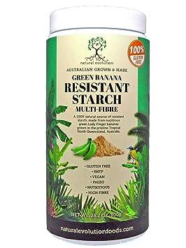 Plátano Verde Almidón Resistente (800g): Amazon.es: Salud y cuidado personal