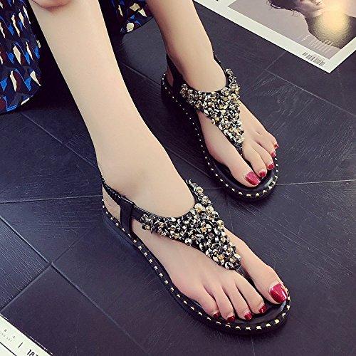 Shoe Sandales Shoe Pour Sandales Noir Femme Femme Noir Pour nrOwIAO