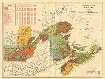 Amazon Com Canada Railways Quebec Maritime Provinces