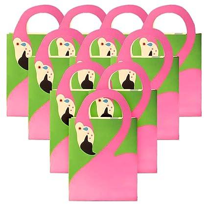 Jollyboom Flamingo Bolsas de Regalo con Asas Bolsas de ...
