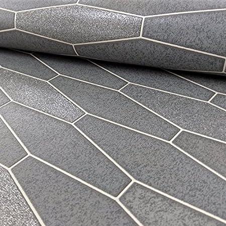 Fantastisch Holden Apex Fliesen Effekt Muster Tapete Marmor Glitzer Motiv Küche Badezimmer  Creme 89271: Amazon.