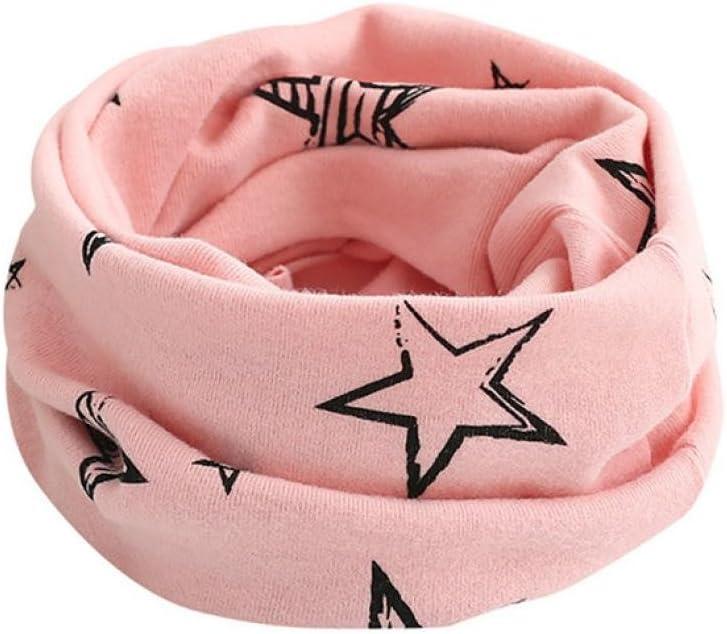 Molyveva Kid Scarf Animal Pattern O-ring Scarf Neck Warmer Woolen Neckerchief
