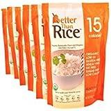 Better Than Organic Konnyaku Konjac Flour Food, Rice, 14 Ounce (Pack of 6)