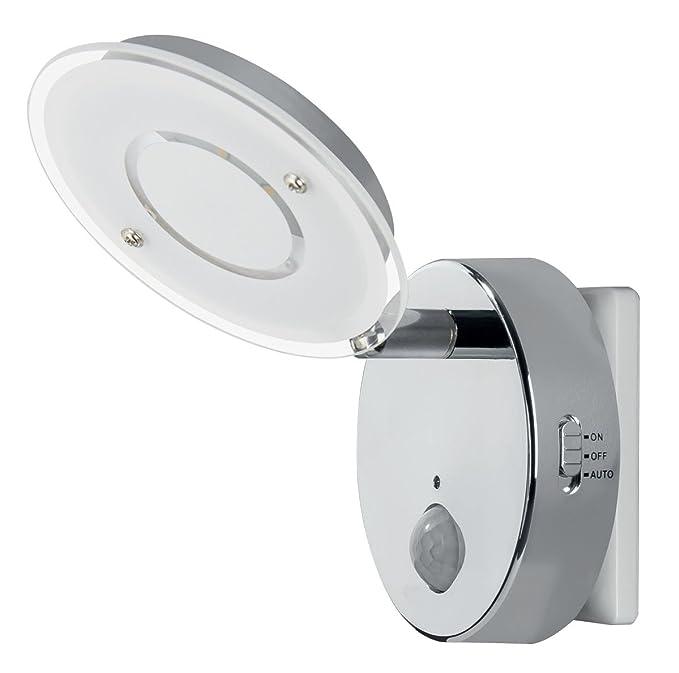 2 opinioni per Trango TG2635–018luce notturna automatica a LED con sensore di movimento, 230