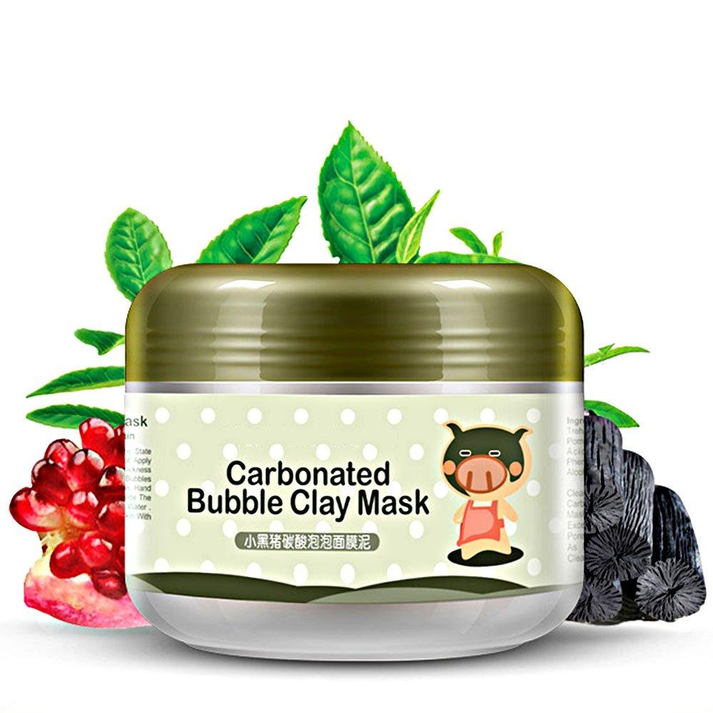 Mlmsy pulizia profonda Carbonated Bubble Clay Mask rifornimento e idratante fango maschera per il viso trattamento Detoxing