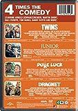 4 Movie Marathon: Comedy Favorites Collection (Twins / Junior / Pure Luck / Dragnet)