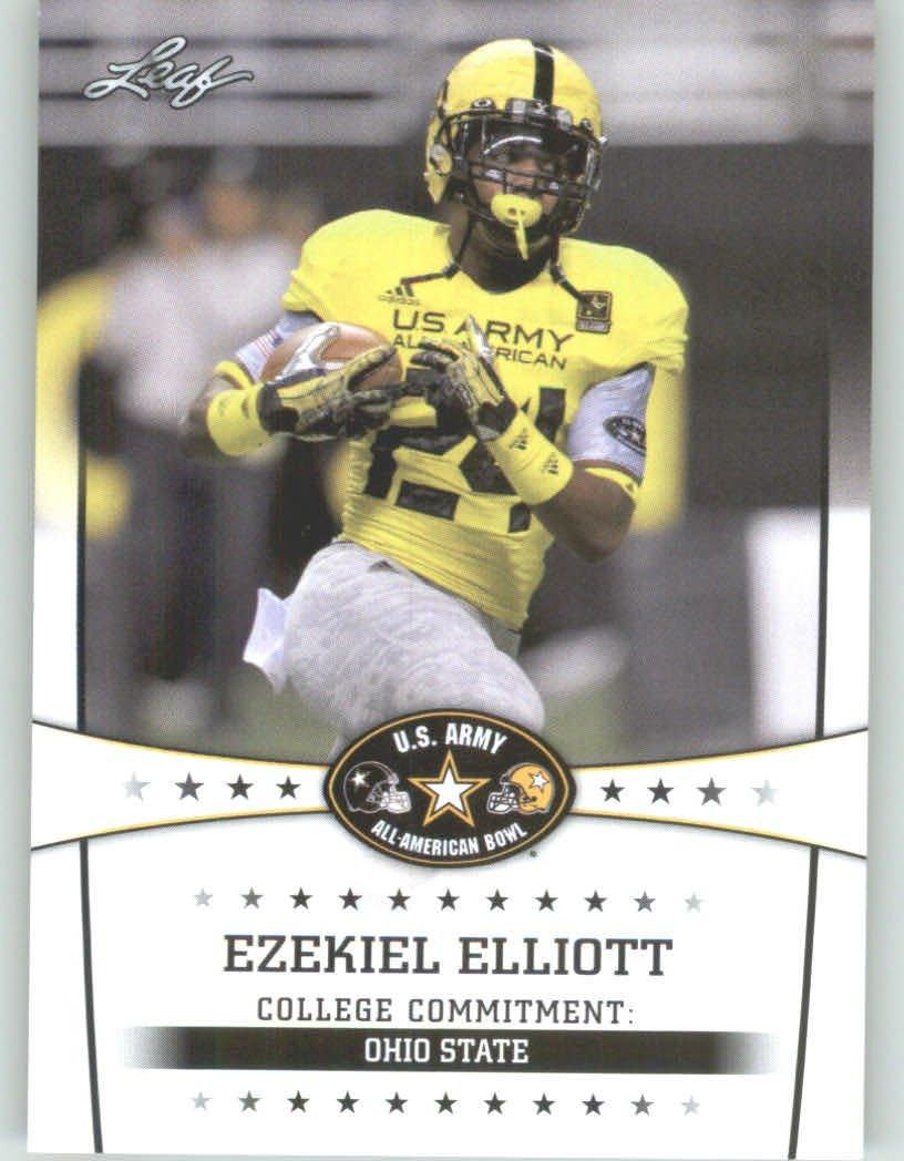 5f819449026 2013 Leaf Army All-American Football Card #31 Ezekiel Elliott - OSU RB - Ohio  State Buckeyes (RC - Rookie Card) First Licensed Trading Card at Amazon's  ...