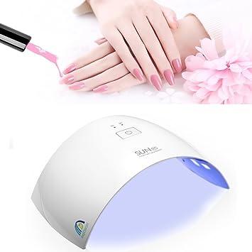 Amazon.com: Lámpara de Gel para uñas, Gel LED lámpara ...