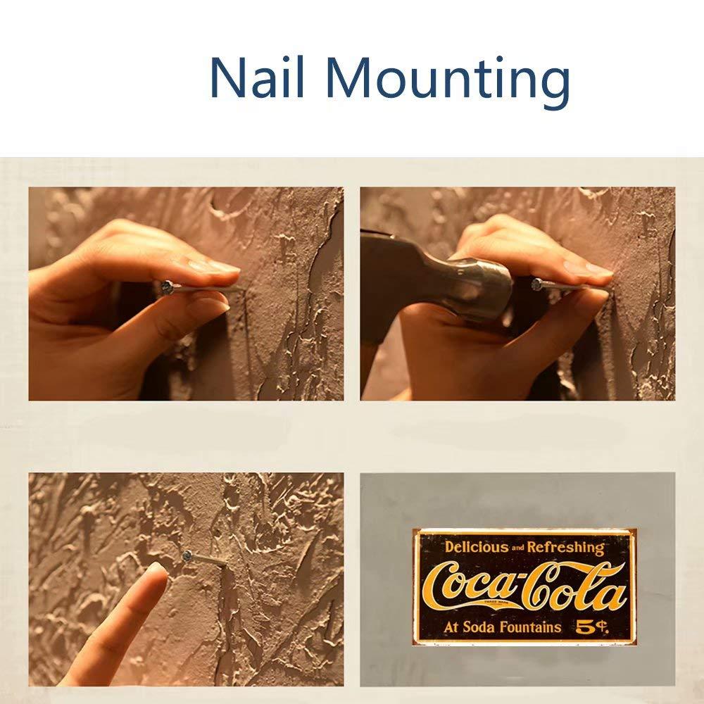 30 x 15 cm CrystalB Targa in Metallo per Decorazione da Parete Motivo: Coca-Cola