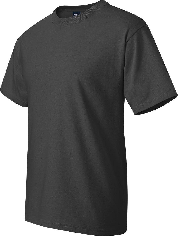 Hanes Lay-Flat Tag-Free Crewneck Beefy T-Shirt