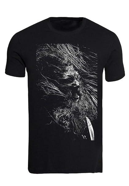 Rock-Camiseta Vintage amon amarth johan Hegg: Amazon.es: Ropa y accesorios