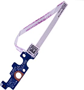 Deal4GO Power Switch Button Board Replacement for Dell Inspiron 15 5551 5552 5555 5566 5758 5558 5559 14-5455 5458 Vostro 3558 3458 94MFG 0176HK LS-B844P