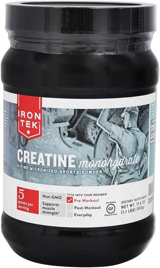 Iron Tek Essential Creatine, 1.1-Pound