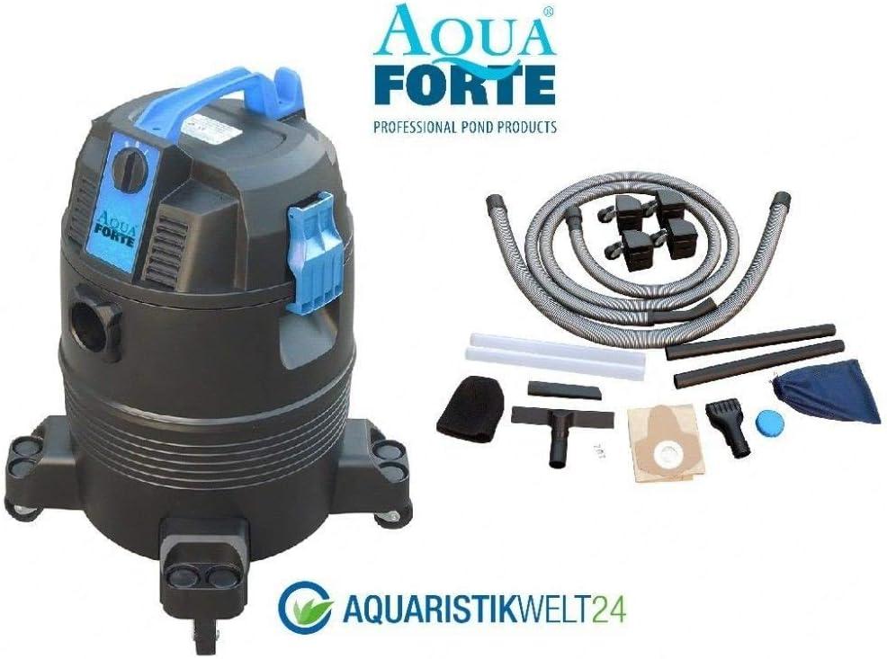 AquaForte Estanque de/ – Aspiradora en seco y húmedo: Amazon.es ...