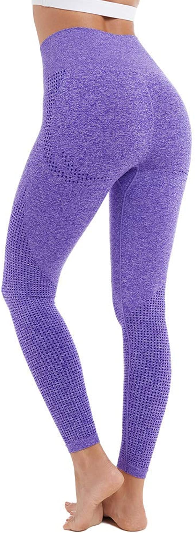 Hight Waist Yoga Pants for Women Seamless Leggings Tummy Control Tights Squat Proof