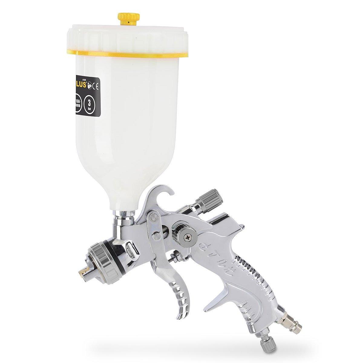 pistolet à peinture professionnel 600 ml - aérographe, pistolet à peinture, la gravité tasse - système HVLP haut volume basse pression - POWAIR0109 product image