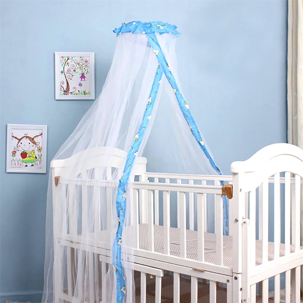 HGMart Baby Mosquito Net,Mosquito Guard Baby Crib Netting Tent Bedding for Baby Kids Children's Room,Portable Folding Tent Bedding