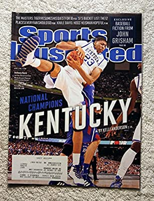 Anthony Davis - Kentucky Wildcats - 2012 National Champions! - Sports Illustrated - April 9, 2012 - Kansas Jayhawks - College Basketball - SI