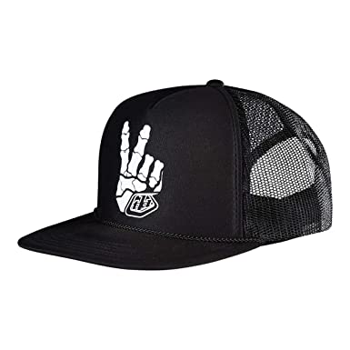 92c143101948a Image Unavailable. Image not available for. Color  Troy Lee Designs Skully Snapback  HAT ...