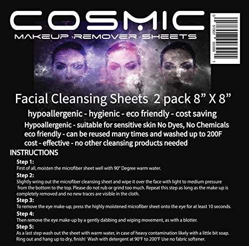 Makeup Remover Cloths 2 pack clean & fresh gentle to skin, n