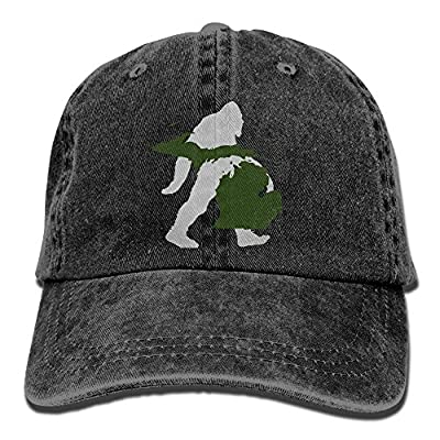 Wagroo Sports Denim Cap Michigan Map Bigfoot Women Snapback Caps Polo Style Low Profile