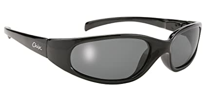 ff43ad3bd2 Image Unavailable. Image not available for. Color  Pacific Coast Wrap Around  Women s Sunglasses (Black Frame Polarized Smoke Lens)