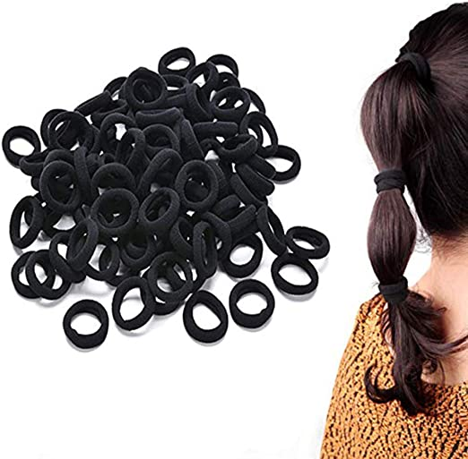 Black Elastic Nylon Towel Hair Ring Tie Line Rubber Band Rope Ponytail Holders Headband Hairband Hair Accessories Tool 50 Pcs Amazon Co Uk Welcome