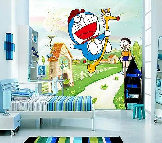 ZMQBH Self-Adhesive Wallpaper (W) 200X (H) 150Cm 3D Mural Cartoon ...