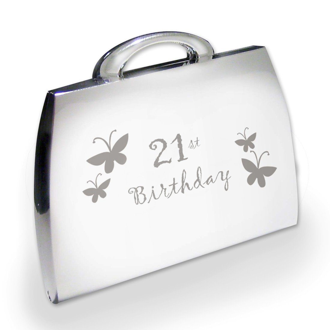 C.PM 21st Butterfly Handbag Compact Personalised Memento