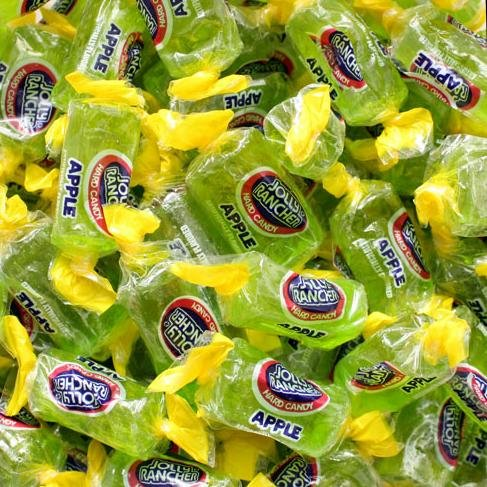 Apple Jolly Rancher 4lb bulk ()
