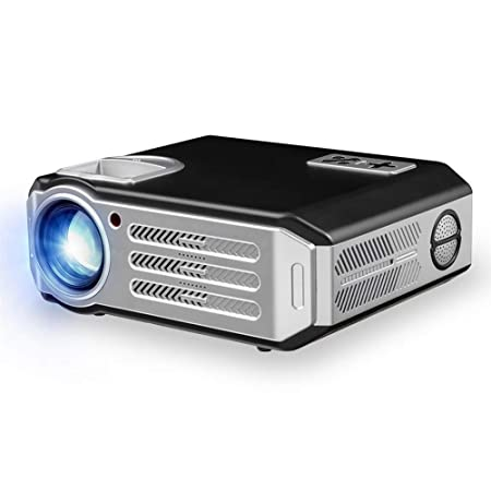 FSMJY Proyector, Mini Videoproyector Portátil De Oficina En Casa ...