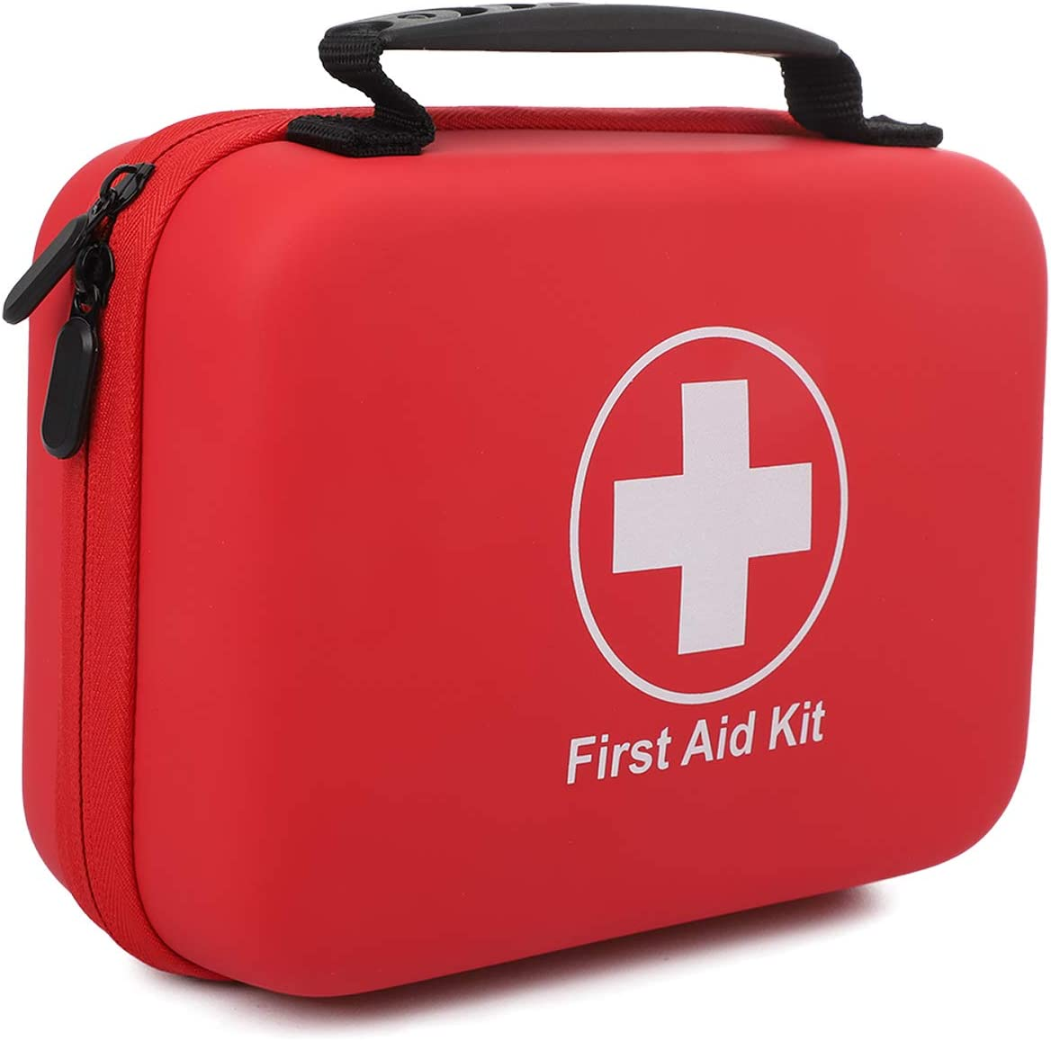 First Aid Kit for Home, Camping and Hiking Essentials Emergency Care with Waterproof Bag, Ideal for Car, Home, Boat, School, Camping, Hiking, Office,Travel, Sports First Aid Kit