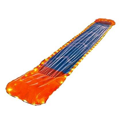amazon com inflatable slip n slide this big sprinkler race kiddie