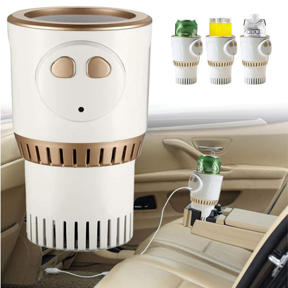 Lianle Car Warm and Cold Cup,Smart Warm and Cold Cup Electric Coffee Warmer Beverage Warmer Heating Cup for Road Trip by lianle -123 (Image #2)