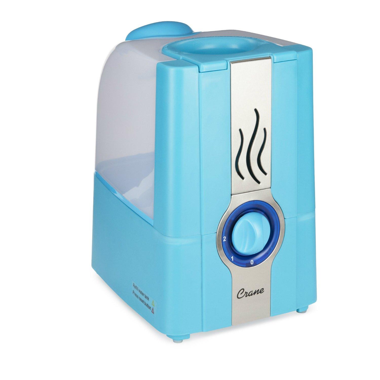 Crane USA Warm Mist Humidifiers, Aqua