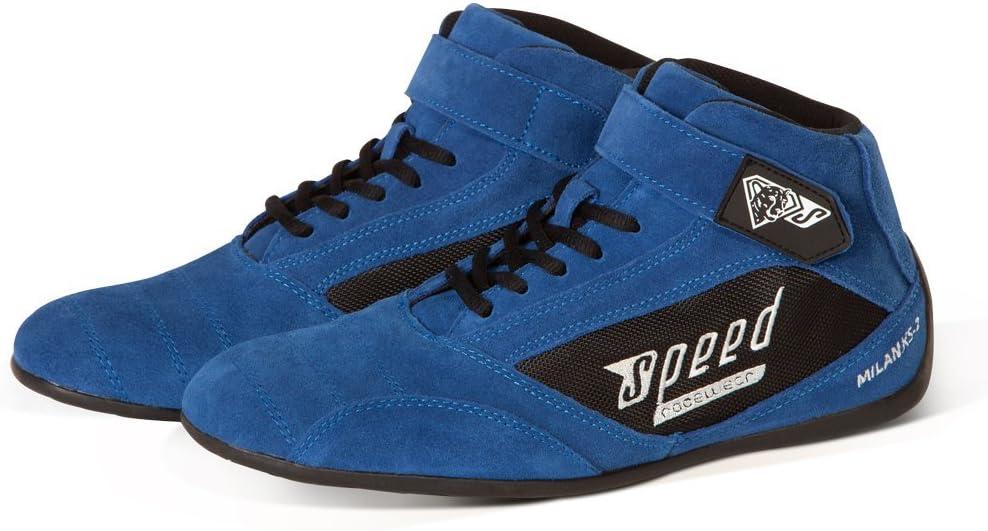Gr/ö/ße 40 Speed Kartschuhe Milan Blau