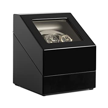 Klarstein Old Marshall •  Watch Winder Watch Box • • – •  Screwdriver – RIM  • Capacity  2 x Automatic Watch (• • (Left Right – 4 Function Motion Mode  (Quiet ... 736ae6388