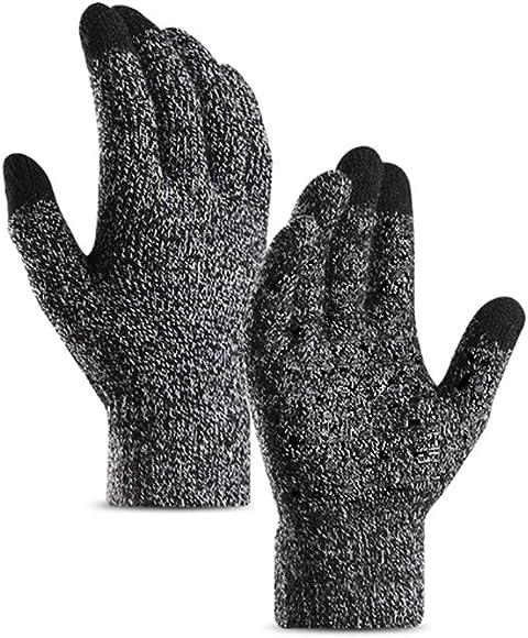 Ausverkauf bestbewertet eine große Auswahl an Modellen Winter Handschuhe Gestrickte Frauen Männer Touchscreen Gloves Warm Wolle  Laufen Radsport Wandern Arbeit Handschuhe