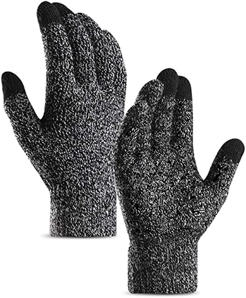 29d111d73f49cc anqier Winter Handschuhe Gestrickte Frauen Männer Touchscreen Gloves Warm  Wolle Laufen Radsport Wandern Arbeit Handschuhe