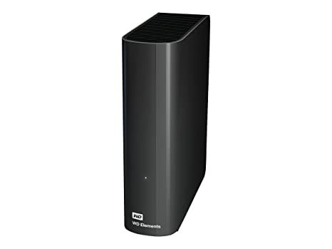 Western Digital 3TB USB 3 0 and 2 0 External Desktop Storage  (WDBWLG0030HBK-NESN)