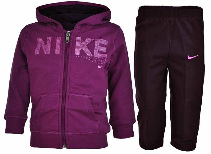 Nike Kids track suit baby bebé chándal púrpura f7dfe276b57