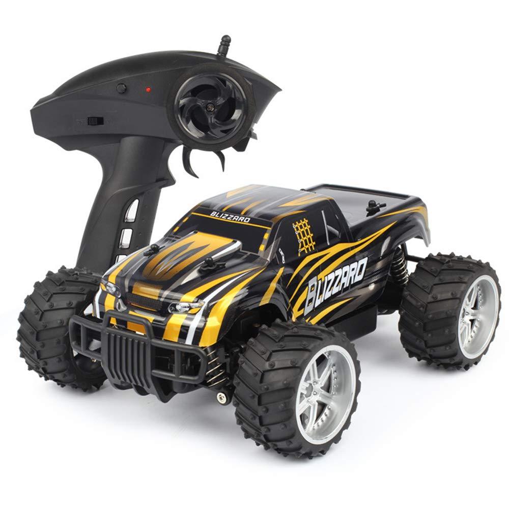 Super Schnell Fernbedienung Spielzeugauto,2.4Ghz Elektrisch Geländewagen Rallye-Auto Rennsport, Wiederaufladbar Fernsteuerungsauto (Mehrere Farben)