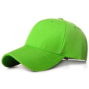 Générique Gorra De Beisbol,Hip Hop Polo-Style Ajustable Verde ...