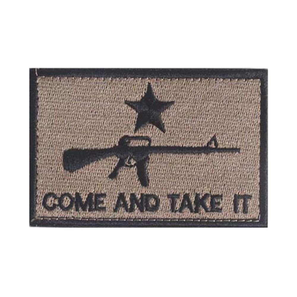 GGG AR-15 COME AND TAKE IT New Swat Military Tactical Patch Tape Army Morale Badge