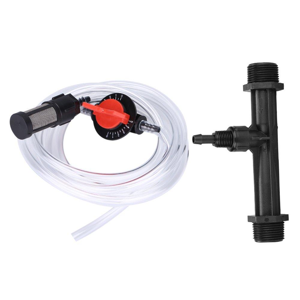 Irrigation Fertilizer Injector Fertilizer Injector + Switch + Filter + Water Tube Kit G3/4