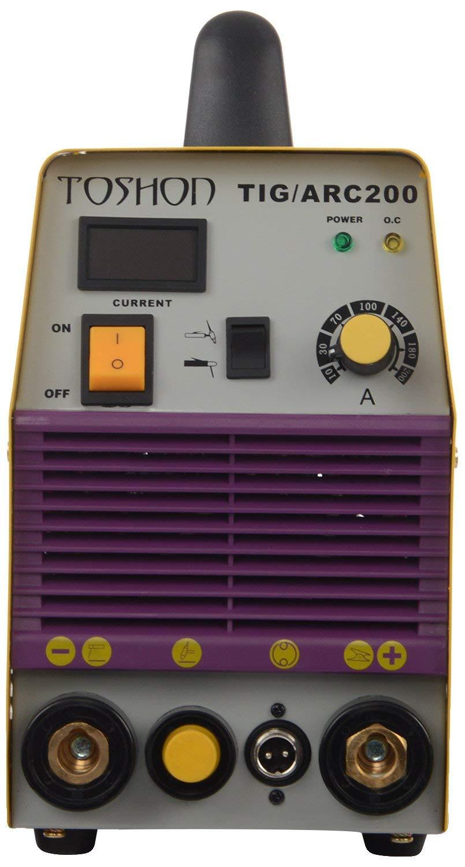 Toshon Tig Arc200 Inverter Welding Machine 220 Vac 200 A Amazon In Industrial Scientific
