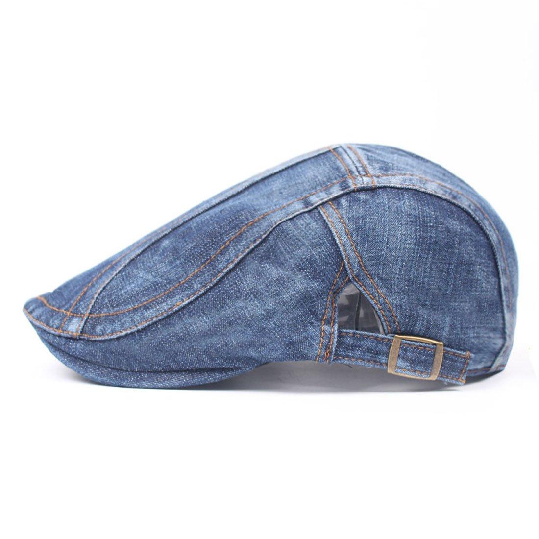 King Star Men Cotton Flat Cap Hat Ivy Irish Cabbie Newsboy Scally Cap